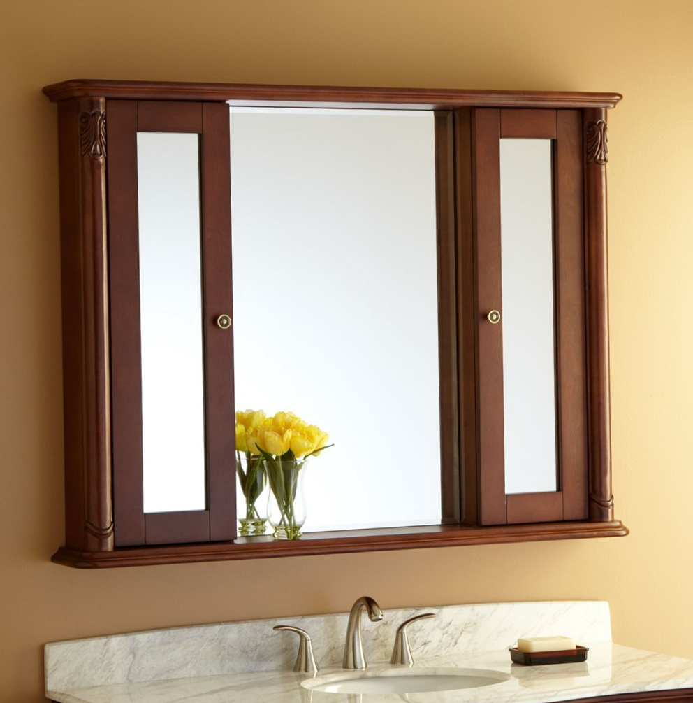 Restoration Hardware Mirrors Wood