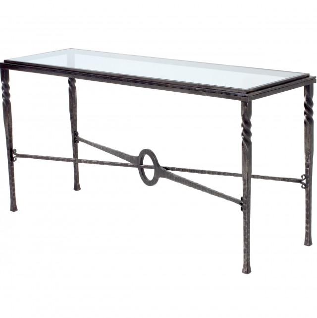 Rod Iron Console Tables