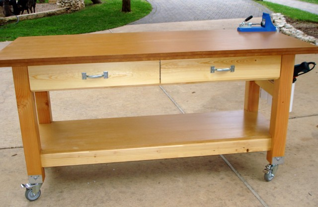 Rolling Woodworking Bench Plans Home Design Ideas