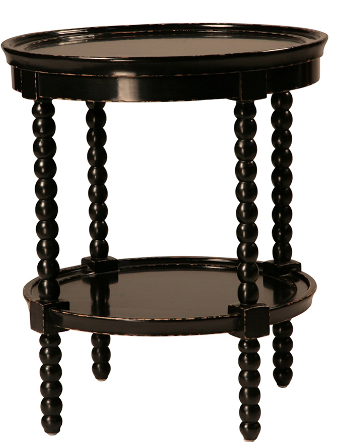 Round Antique Side Table