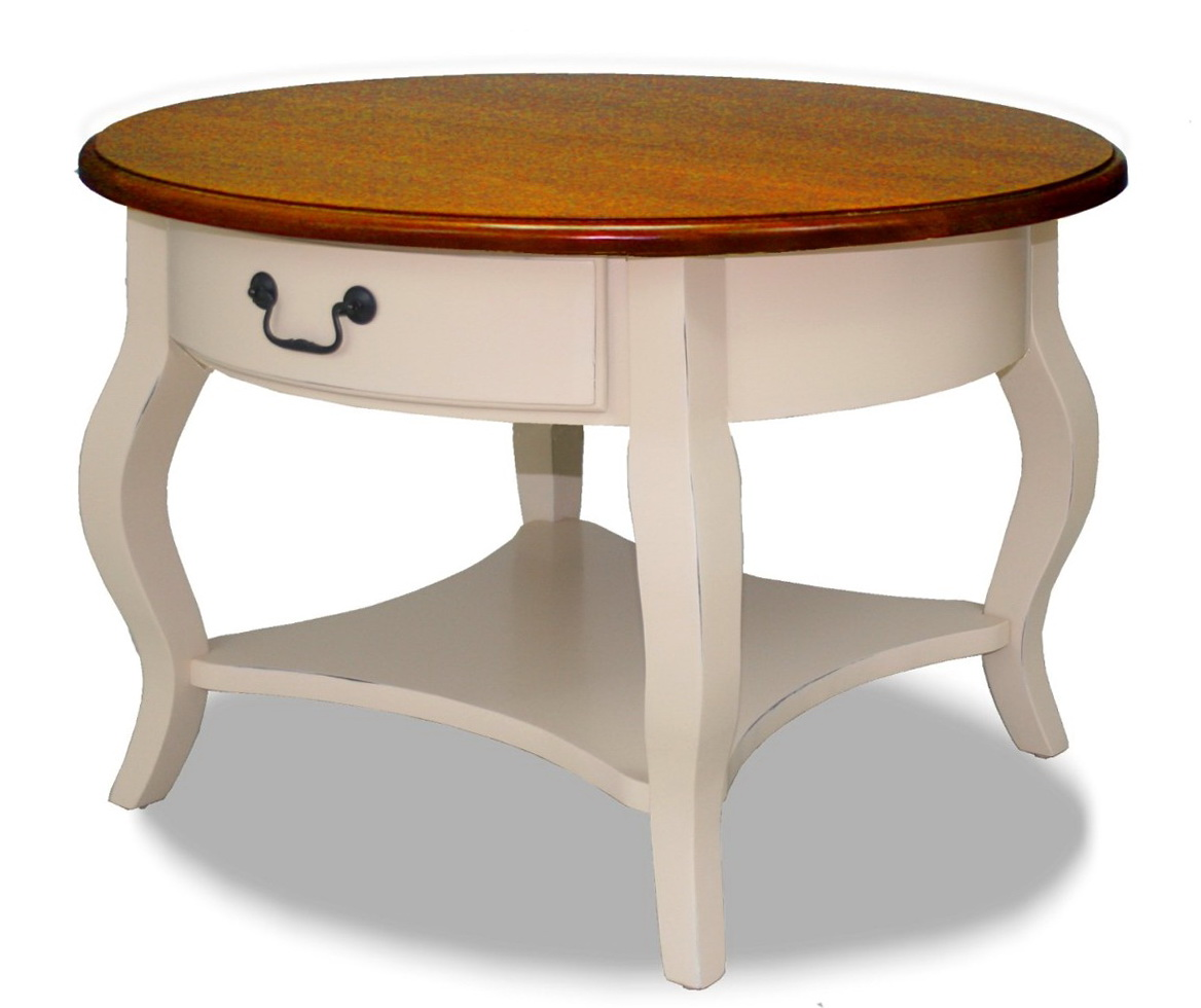 Round Side Tables With Storage