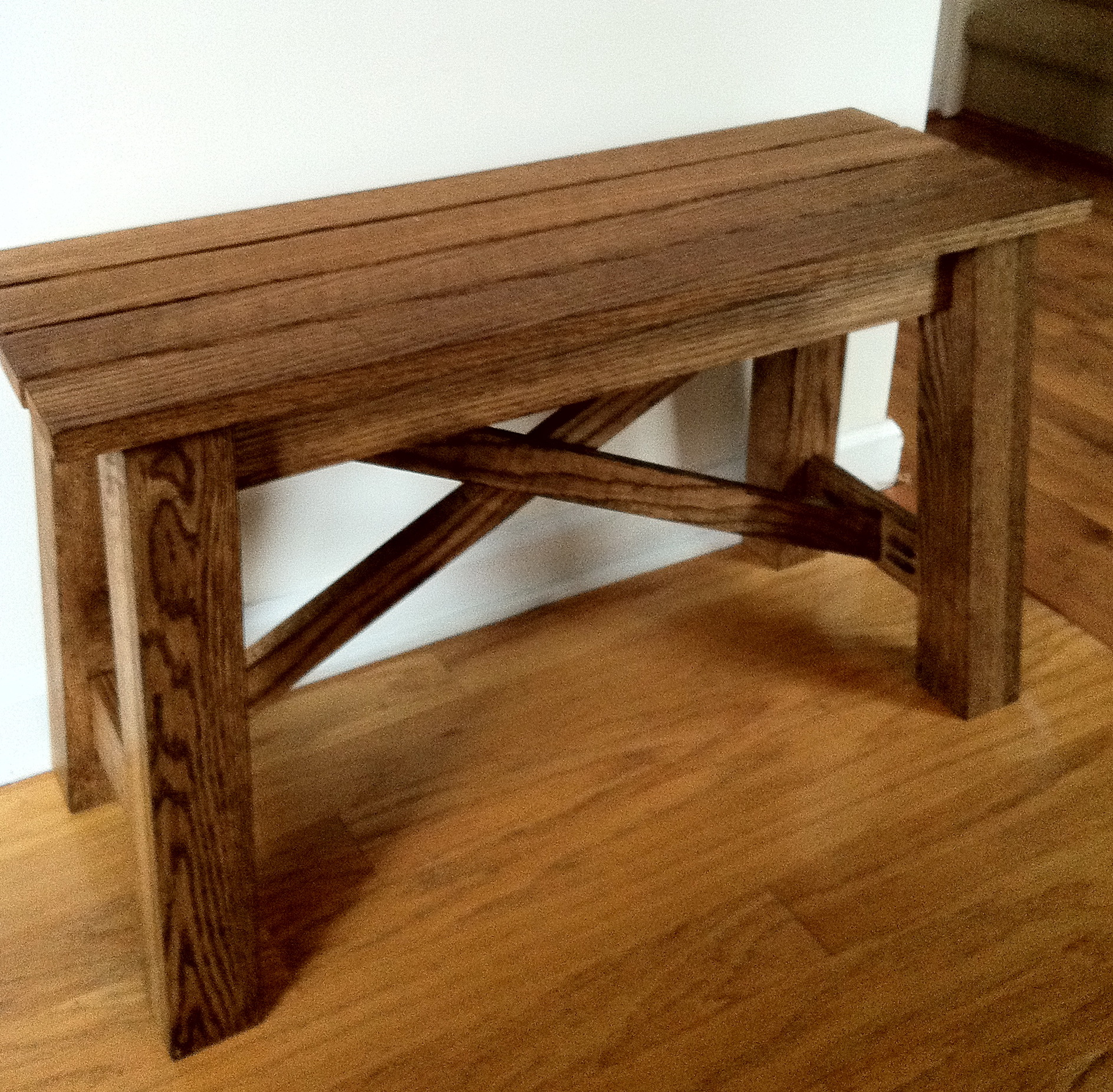 Rustic Wood Bench Plans