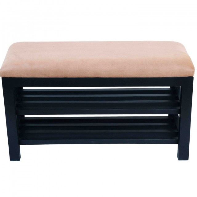 Shoe Storage Ottoman Bench