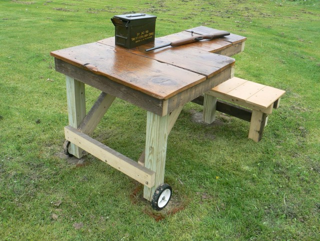 Shooting Bench Plans Build