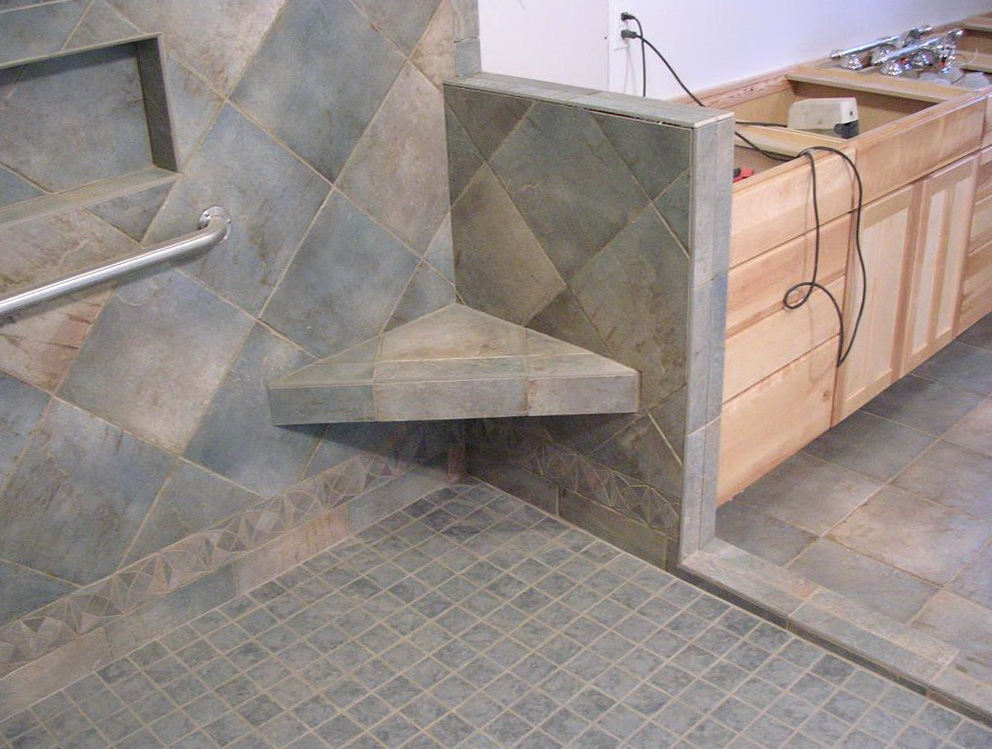 Merveilleux Shower Bench Seat Construction