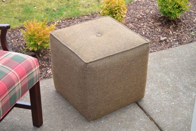 Slipcovers For Ottomans Shabby Chic