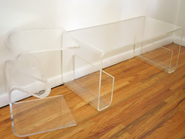 Small Acrylic Console Table