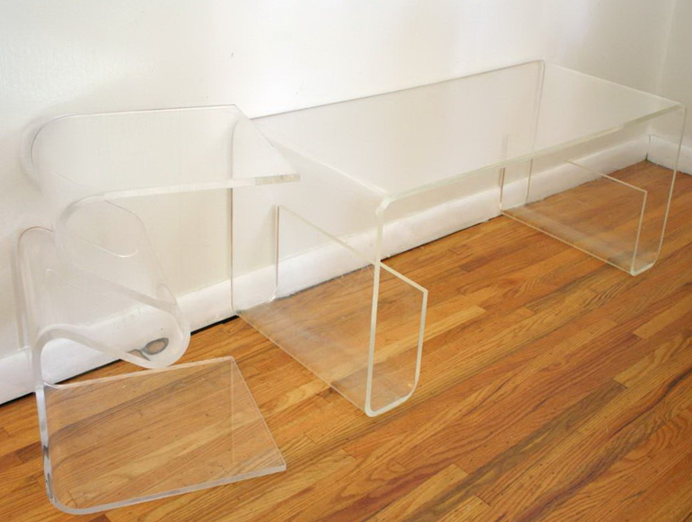 Small Acrylic Console Table Home Design Ideas