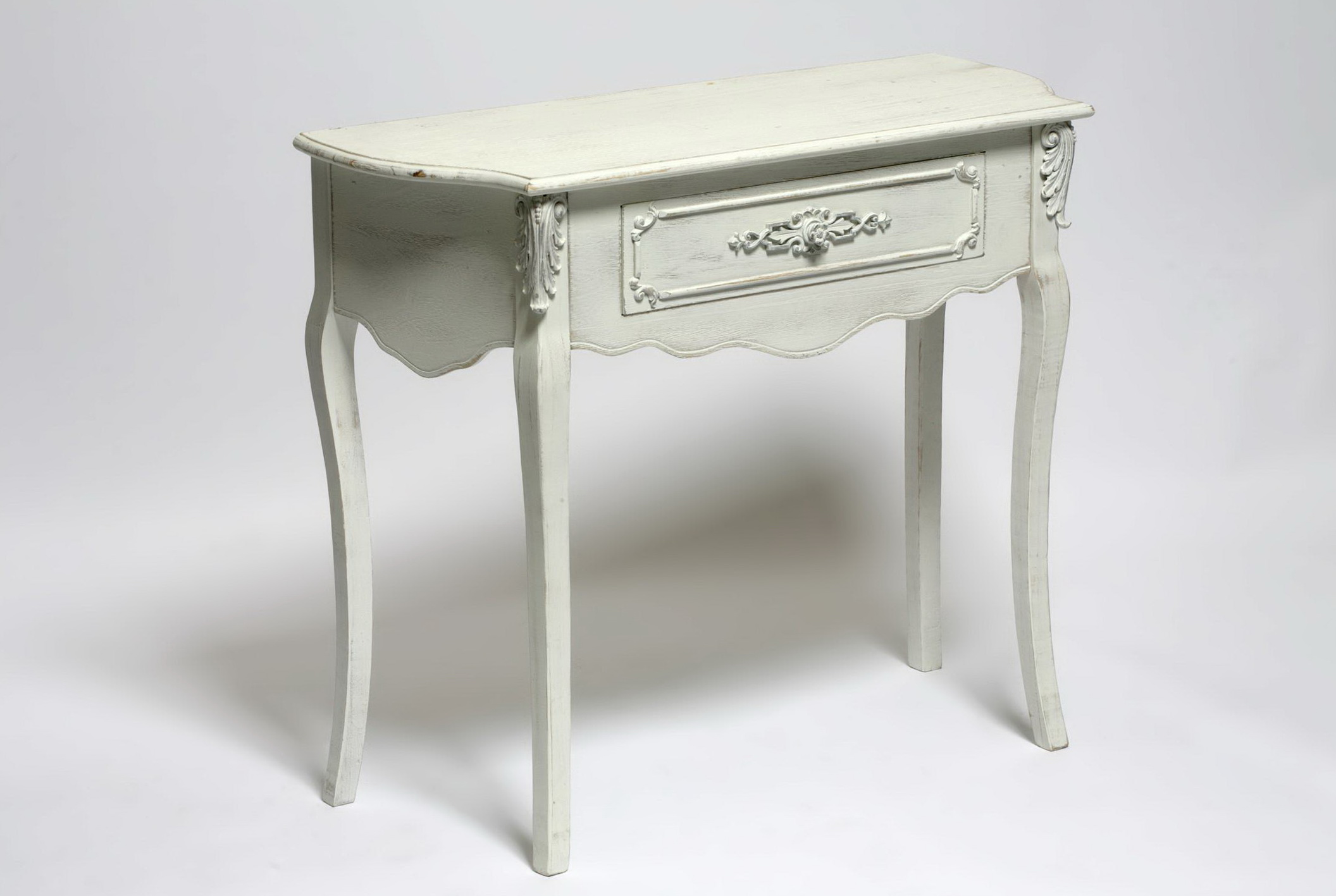 Small Console Table White