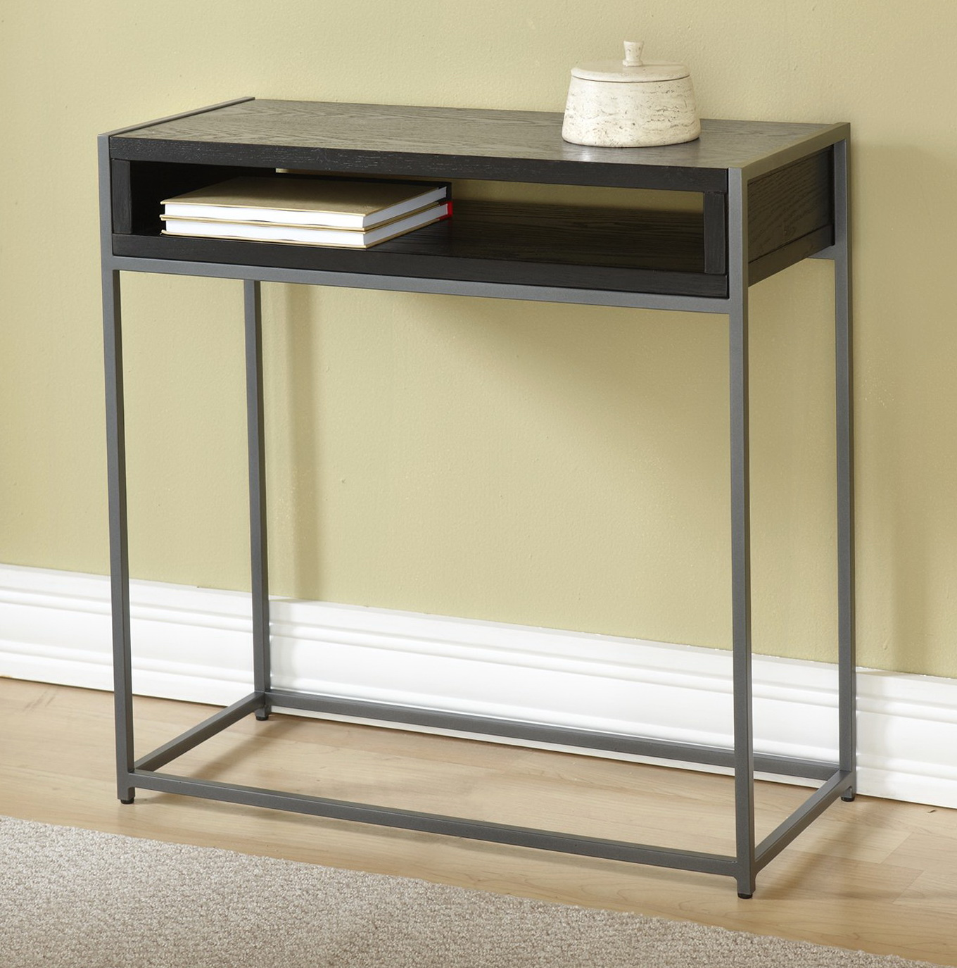 Small console table with storage home design ideas Console tables with storage