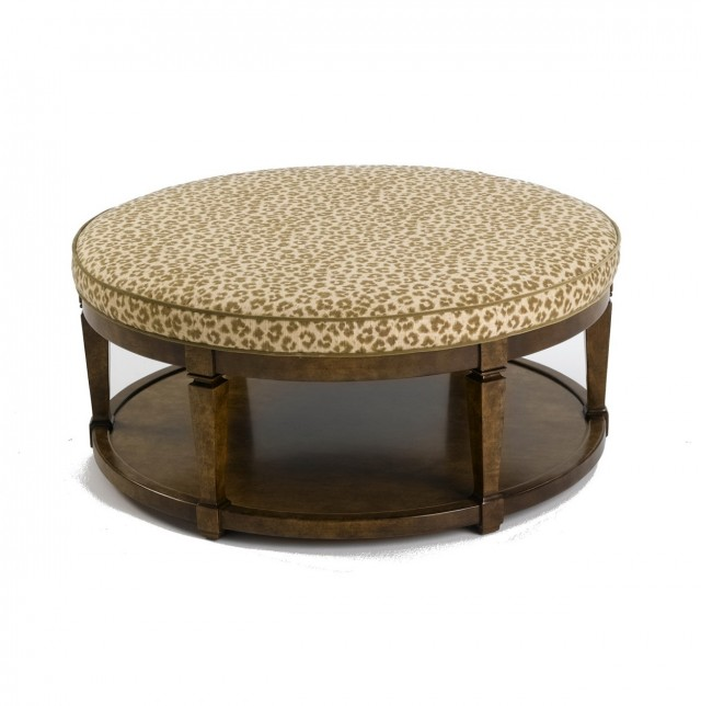 Small Round Coffee Table Ottoman
