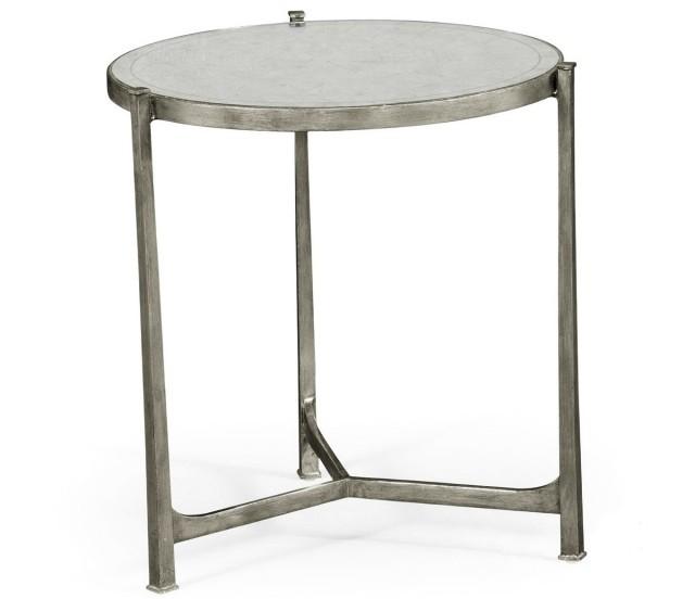 Small Silver Console Table