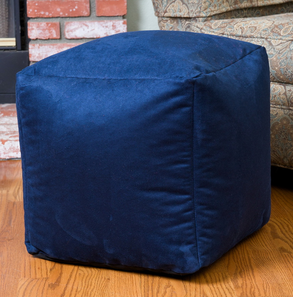Square Bean Bag Ottoman Home Design Ideas
