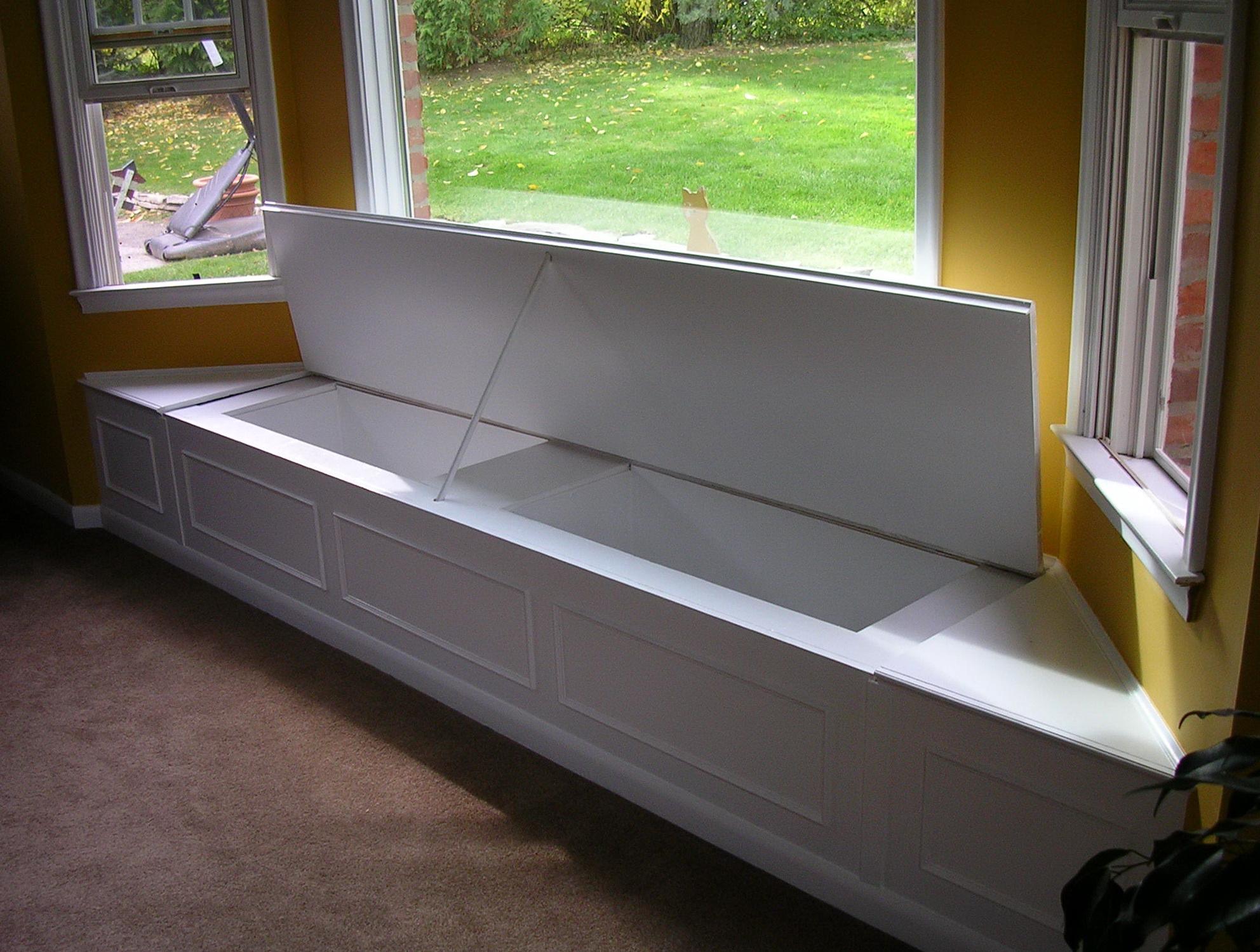 Storage Bench Seat Plans
