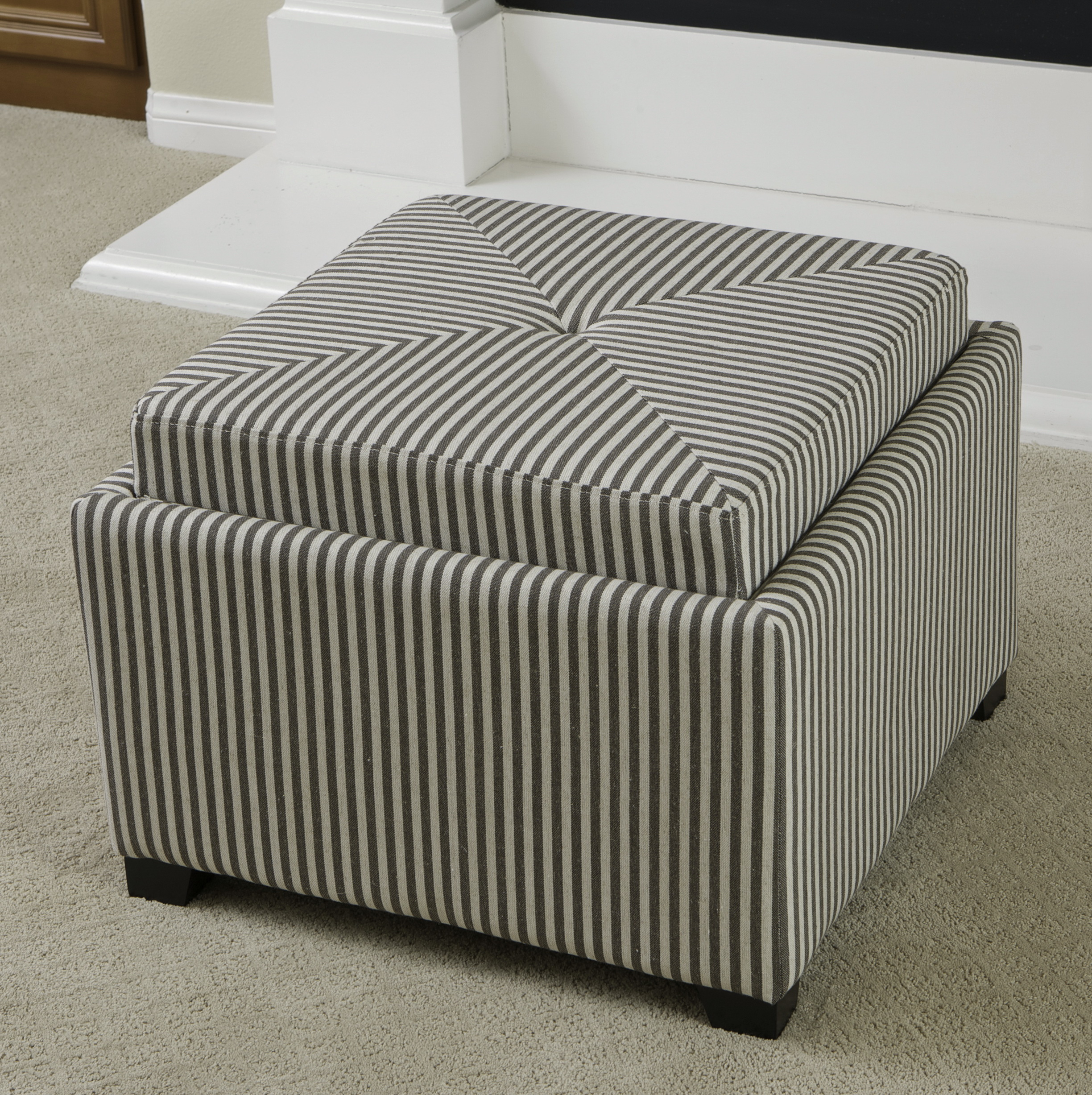 Storage ottoman cube walmart home design ideas for Storage ottoman walmart