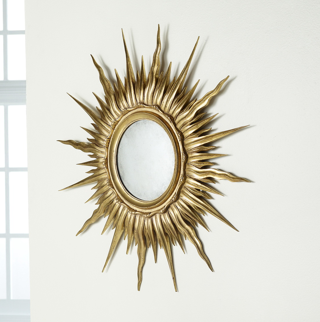 Sun Mirror Wall Decor