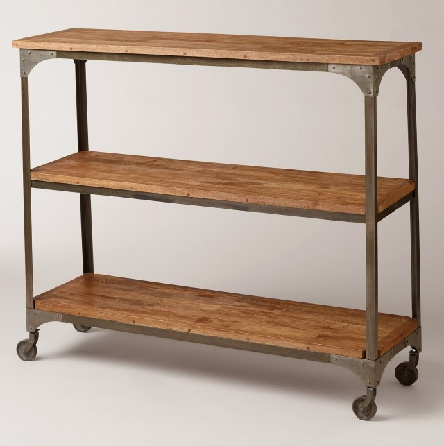 Tall Console Table With Shelves