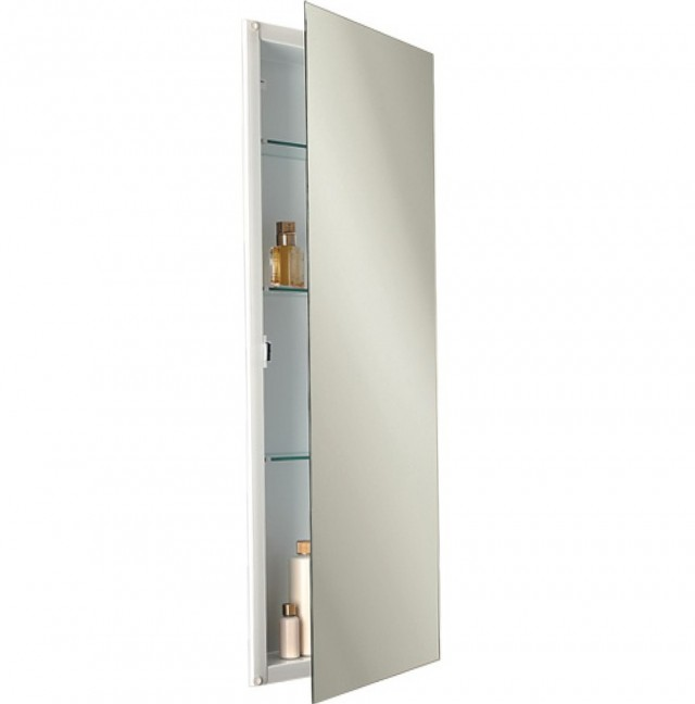 Tall Mirrored Medicine Cabinet