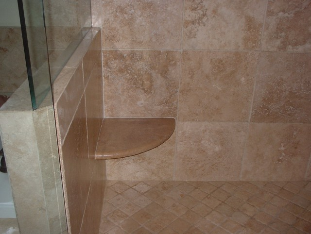 Tile Shower Bench Seat