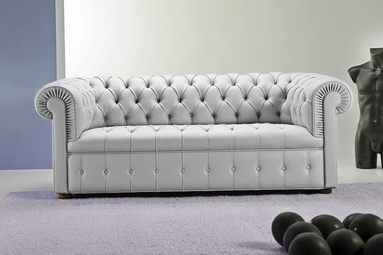 Tufted Leather Ottoman Restoration Hardware Home Design