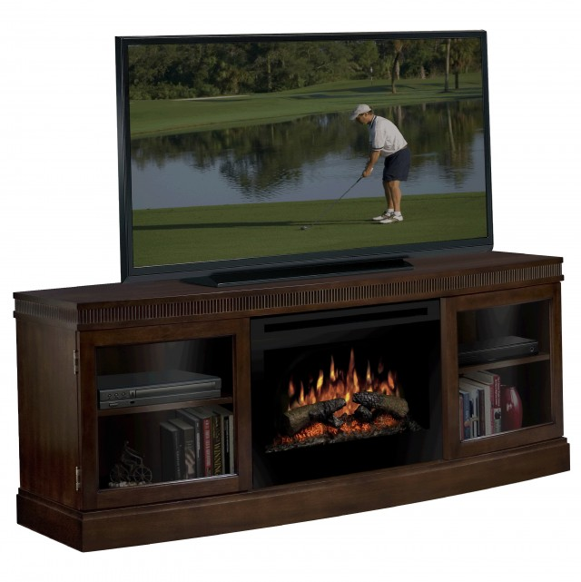 Tv Console Table With Fireplace