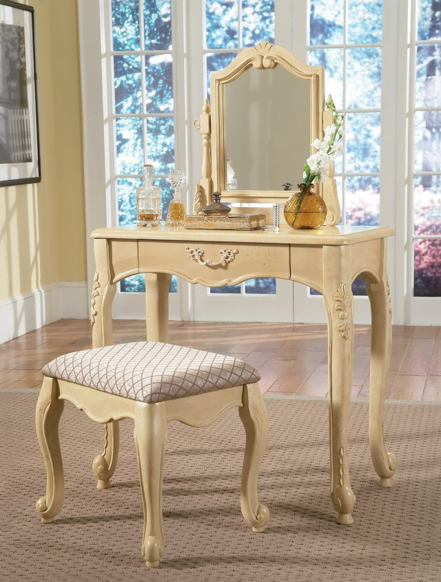 Vanity Desk With Mirror For Sale