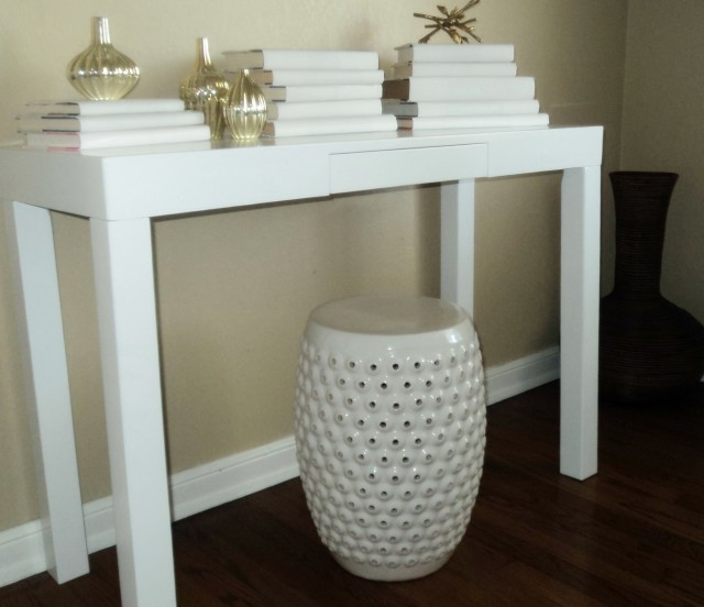 West Elm Bubble Ceramic Side Table