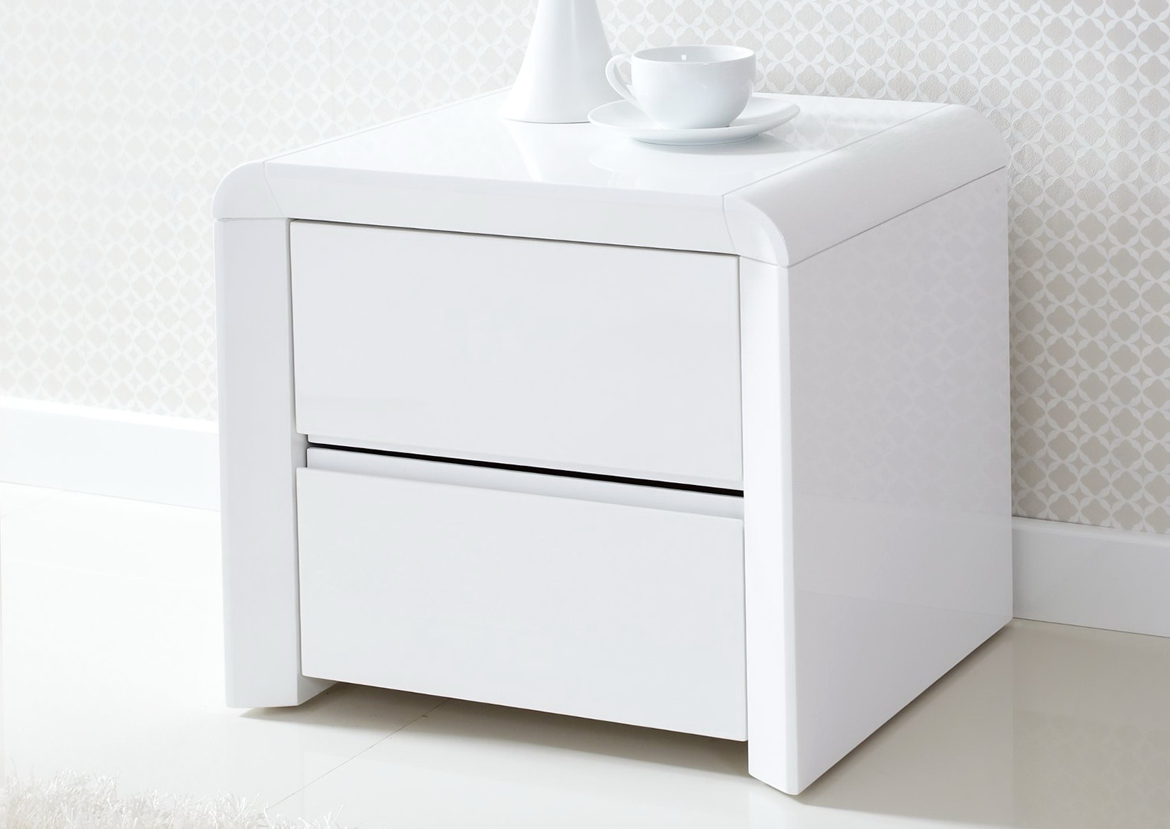 White Bedroom Side Tables | Home Design Ideas
