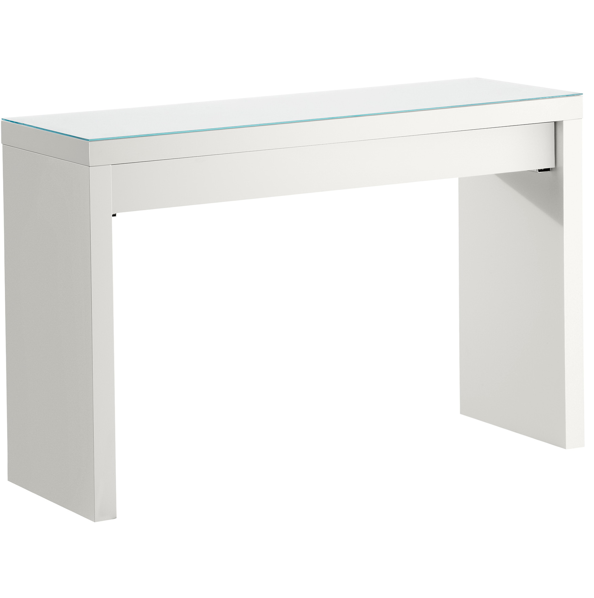 White console table ikea home design ideas for Ikea hall table