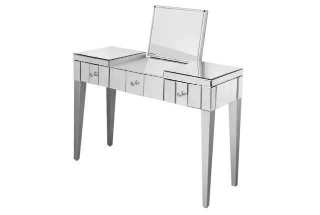 White Console Table With Mirror