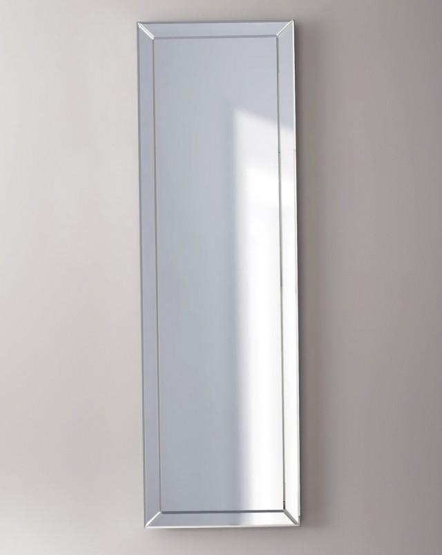 White Framed Mirror Full Length