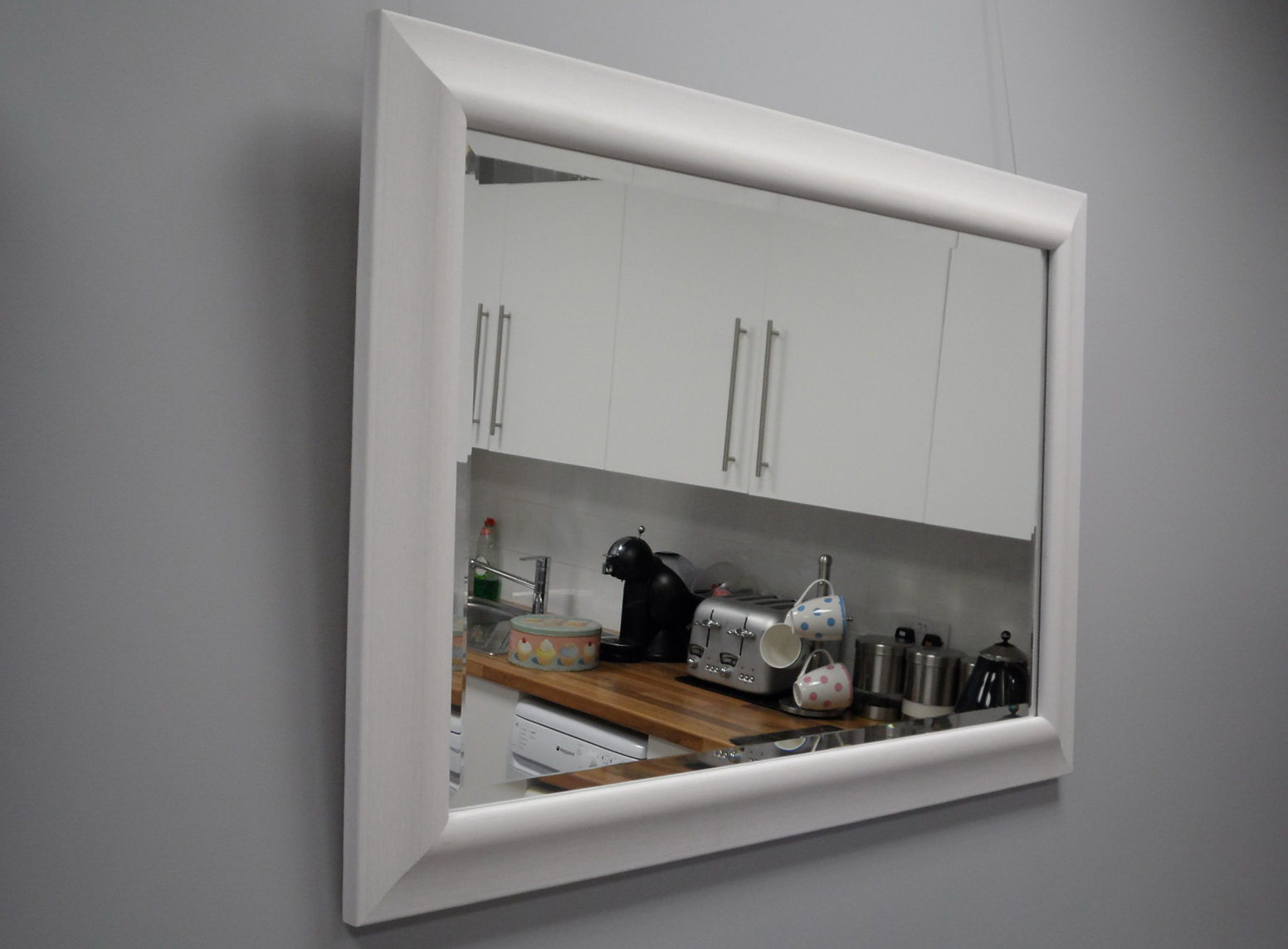 White Framed Mirrors Uk