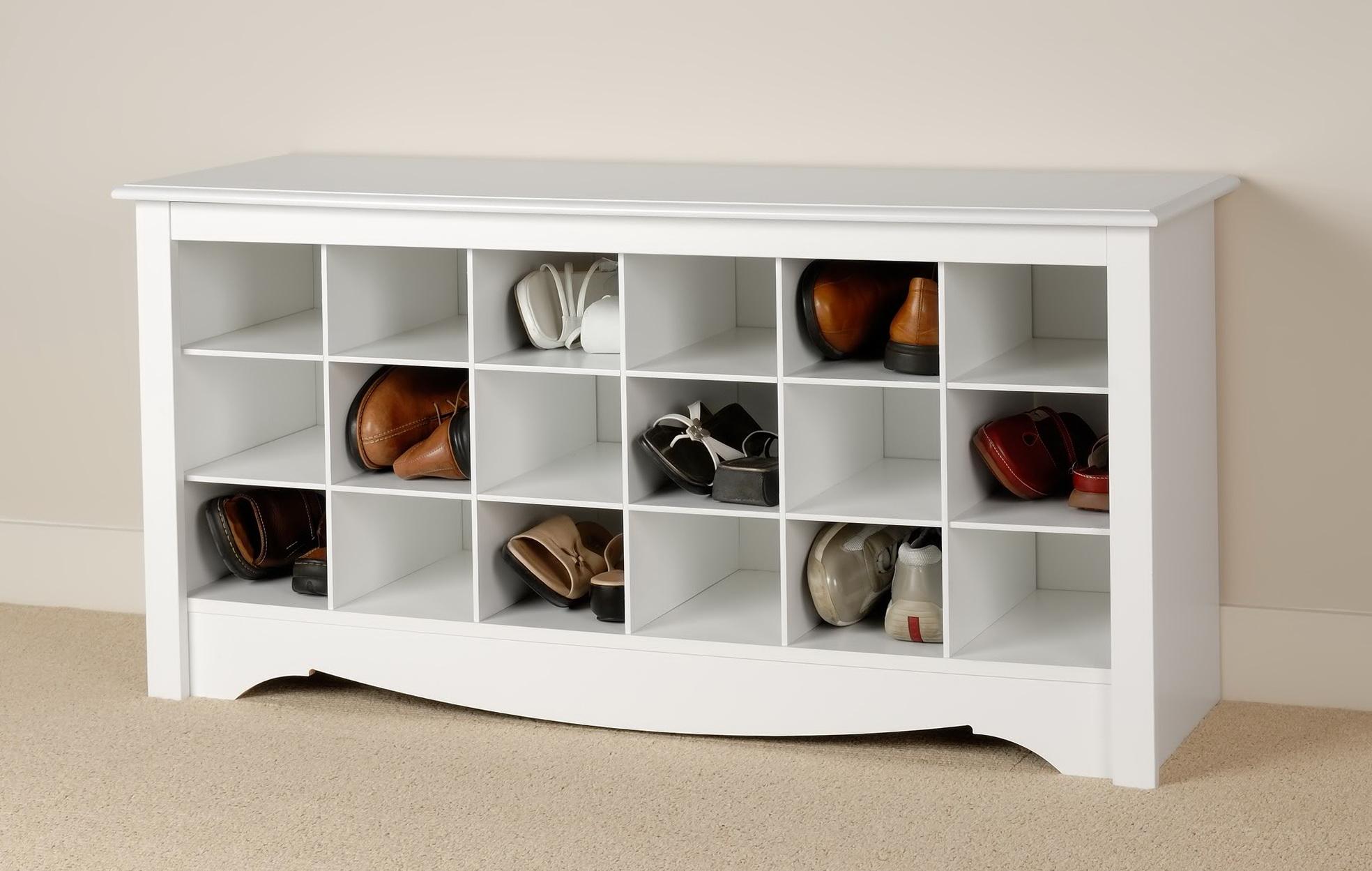 White Storage Bench Ikea