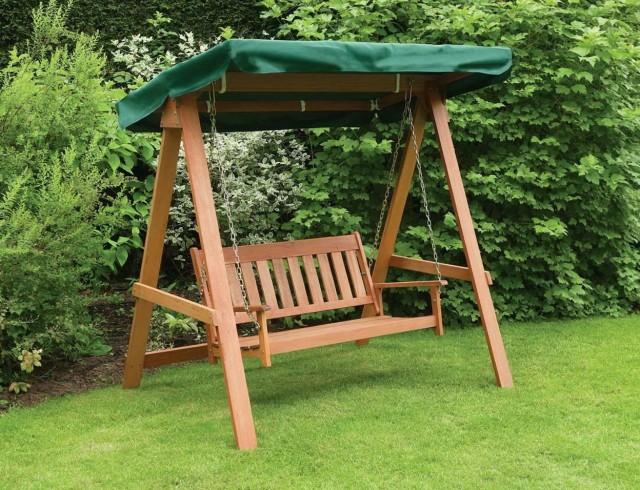 Wood Garden Bench Plans
