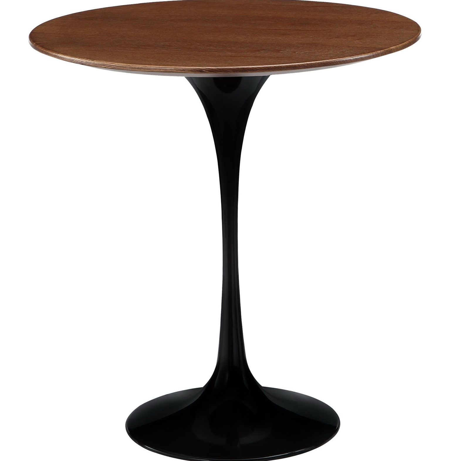 Wood Side Table Round