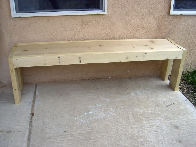Wooden Bench Plans To Build