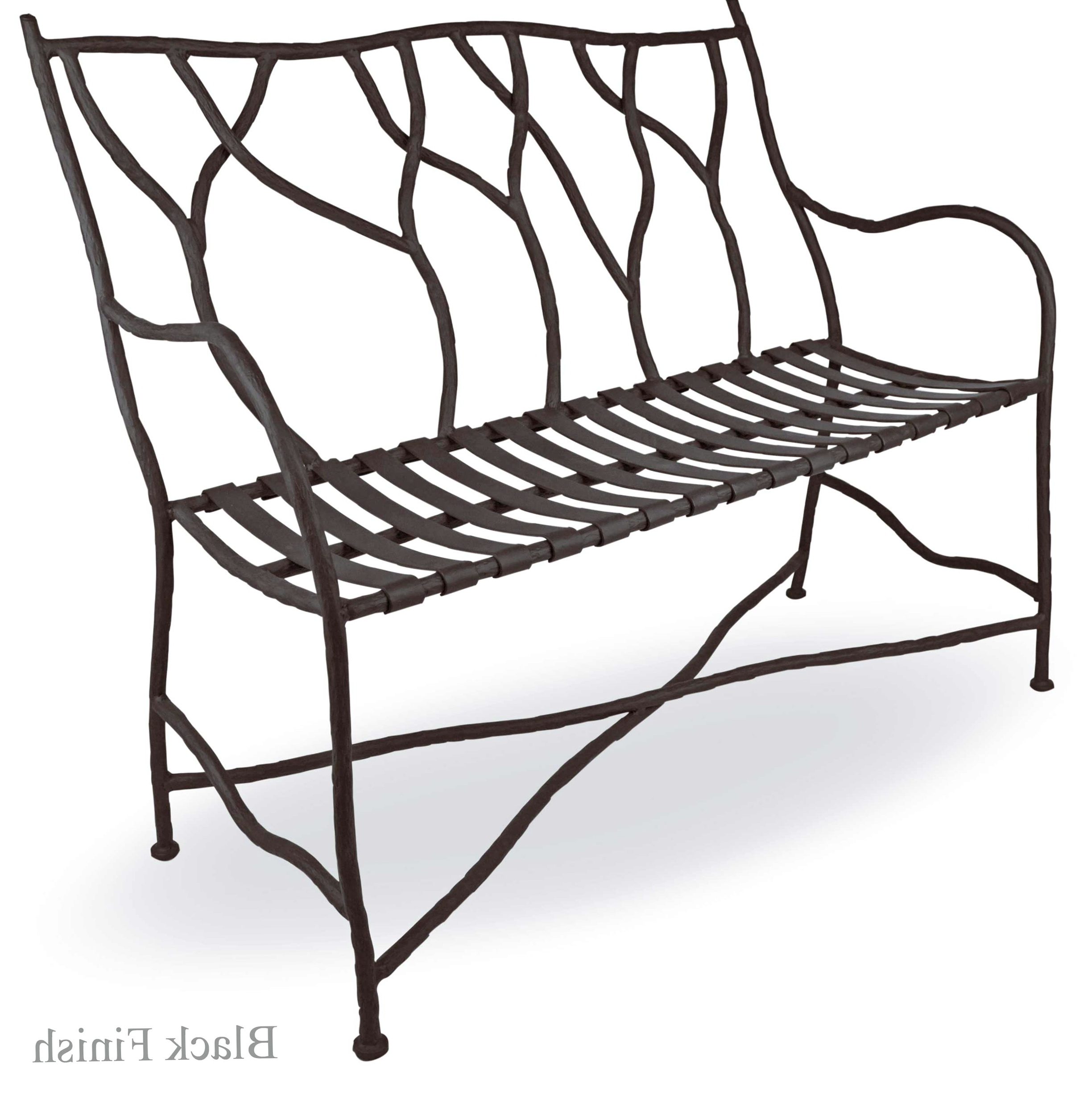 Wrought Iron Bench Seat 28 Images Vintage Wrought Iron
