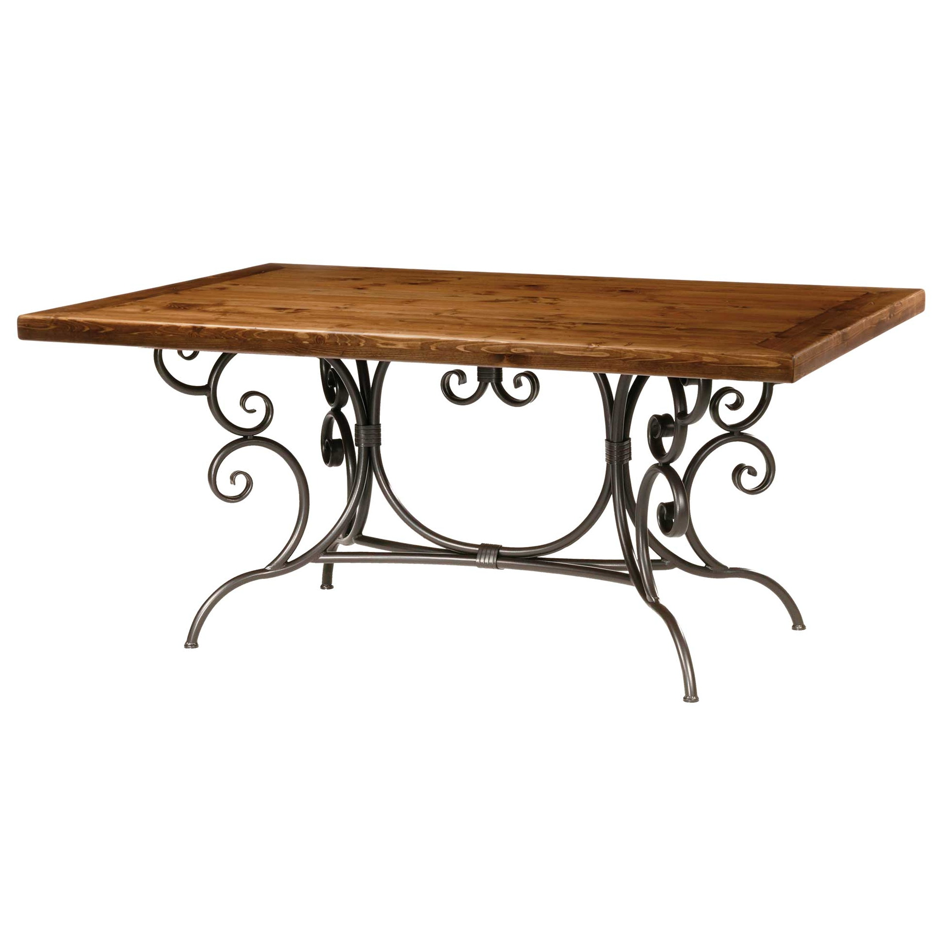 Wrought iron console table base only home design ideas for Wrought iron side table base