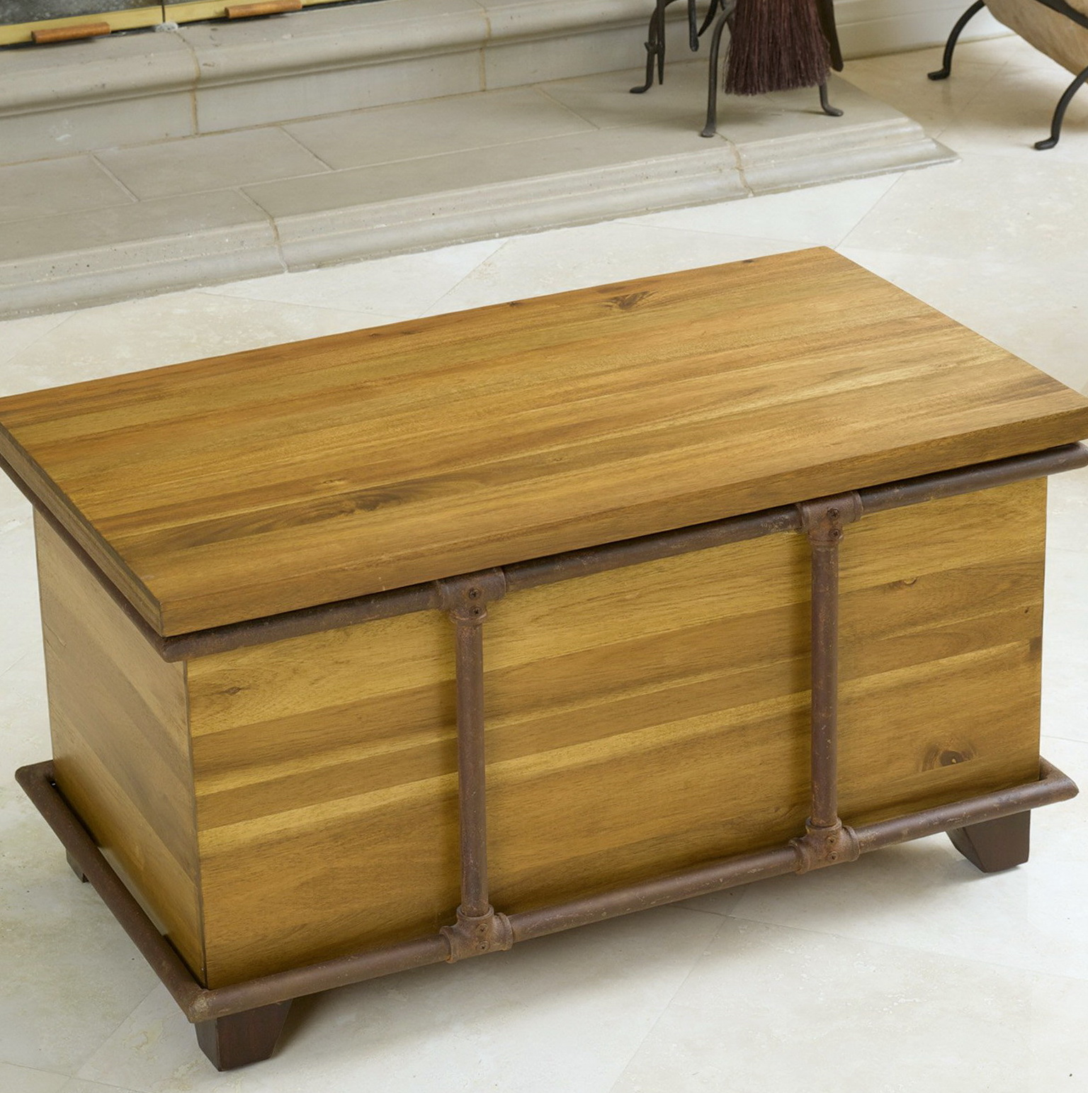 Acacia Wood Shower Bench