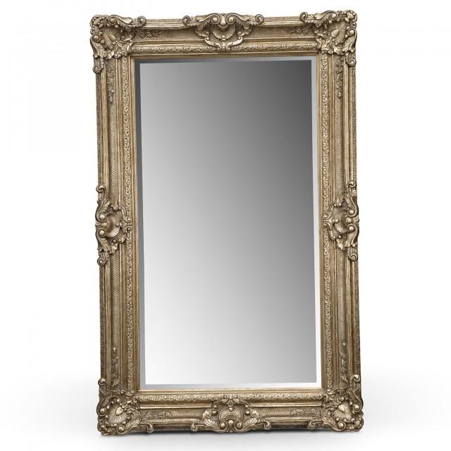 Antique Floor Mirror For Sale