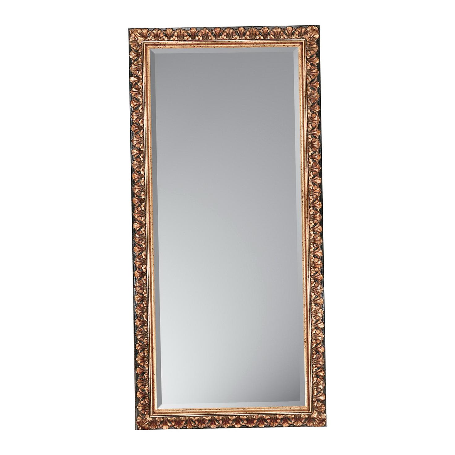 Antique gold floor mirror home design ideas for Gold floor standing mirror