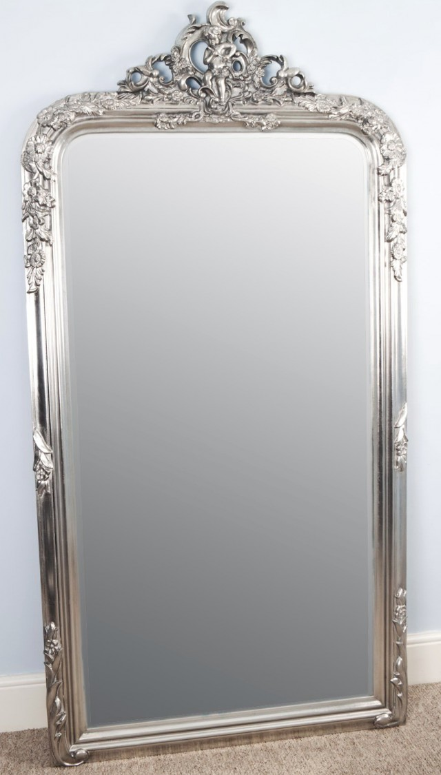 Antique Stand Alone Mirror
