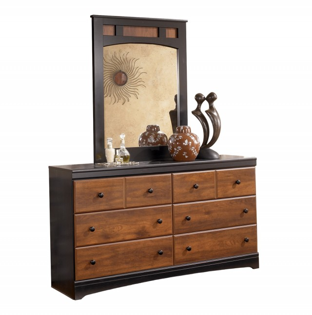Ashley Dresser And Mirror
