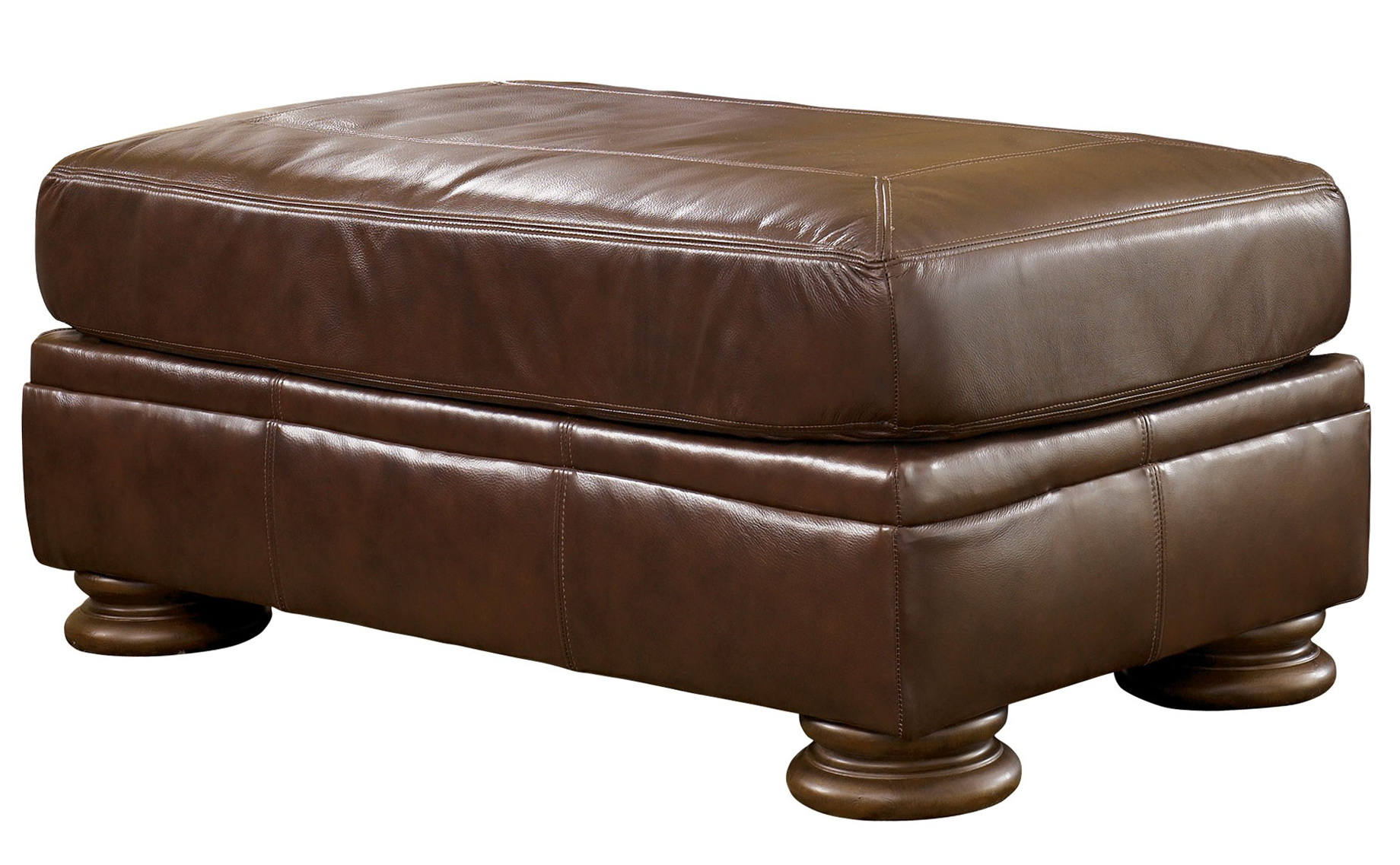 Ashley Furniture Ottoman Brown Leather Home Design Ideas