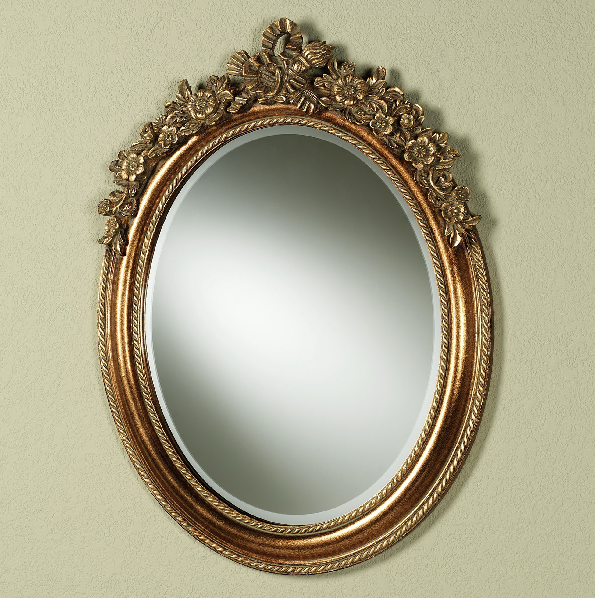 baroque oval wall mirror home design ideas