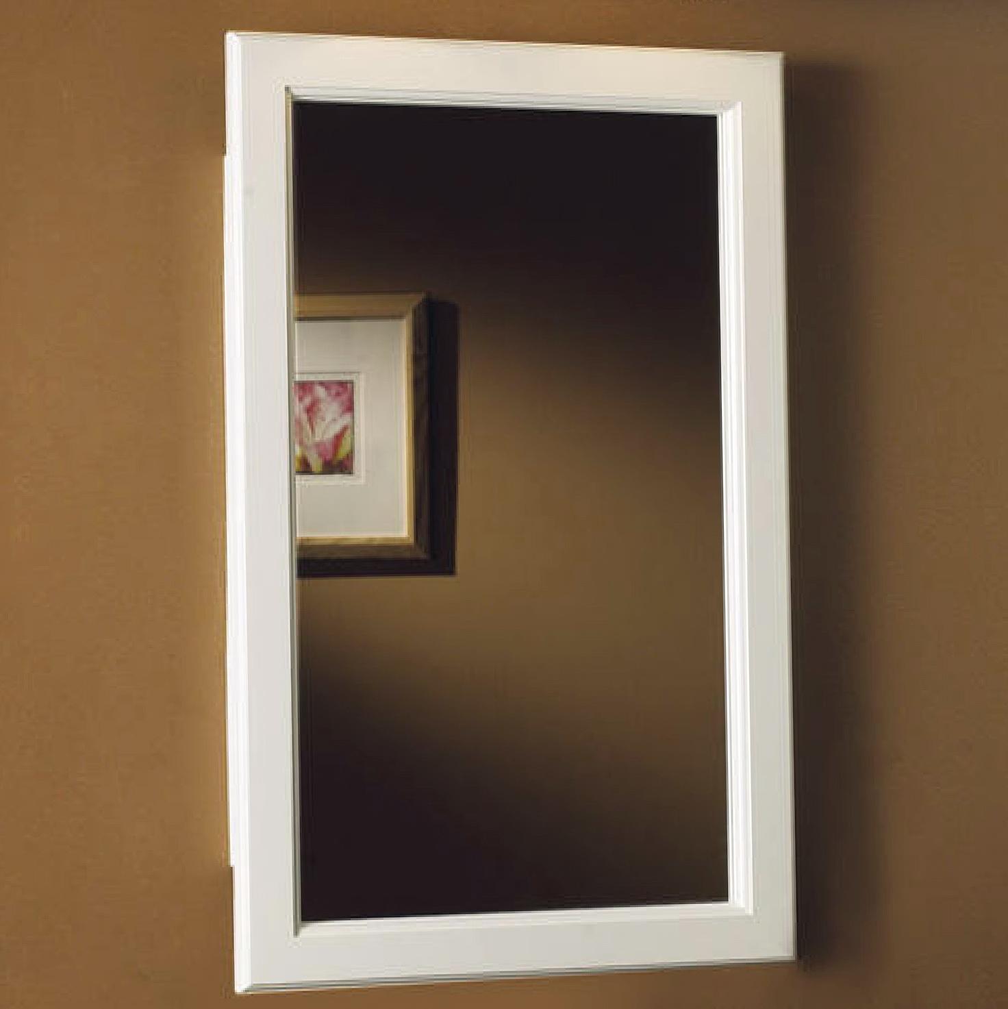 Bathroom Medicine Cabinets With Mirrors Recessed Home Design Ideas