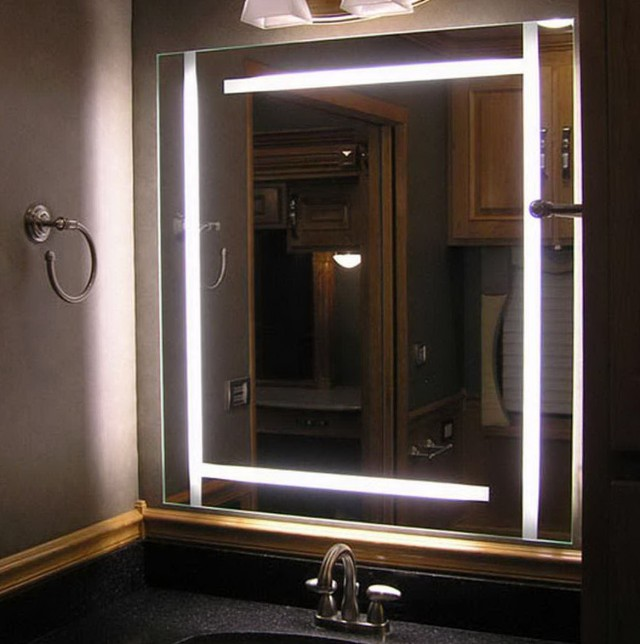 Bathroom Mirror With Lights Built In