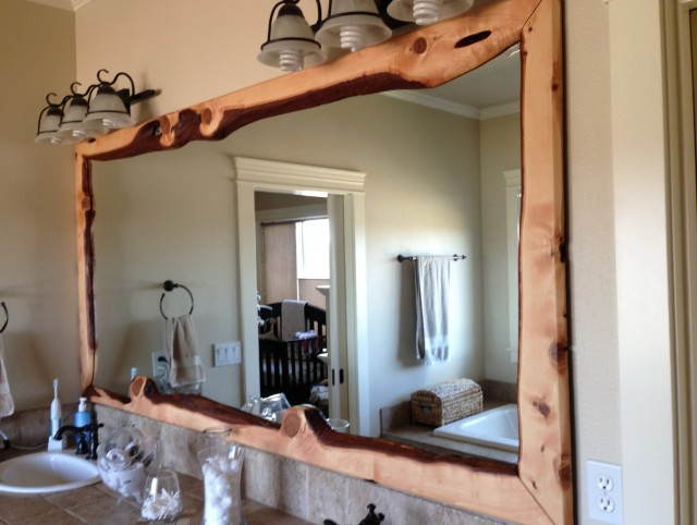Bathroom Mirrors Framed Wood