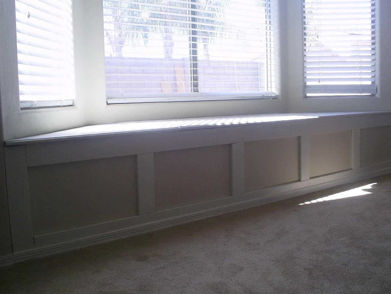 Bay Window Bench In Kitchen