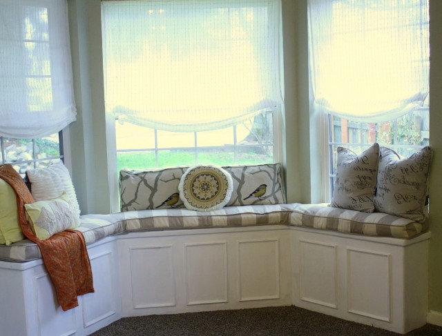 Bay Window Bench Plans